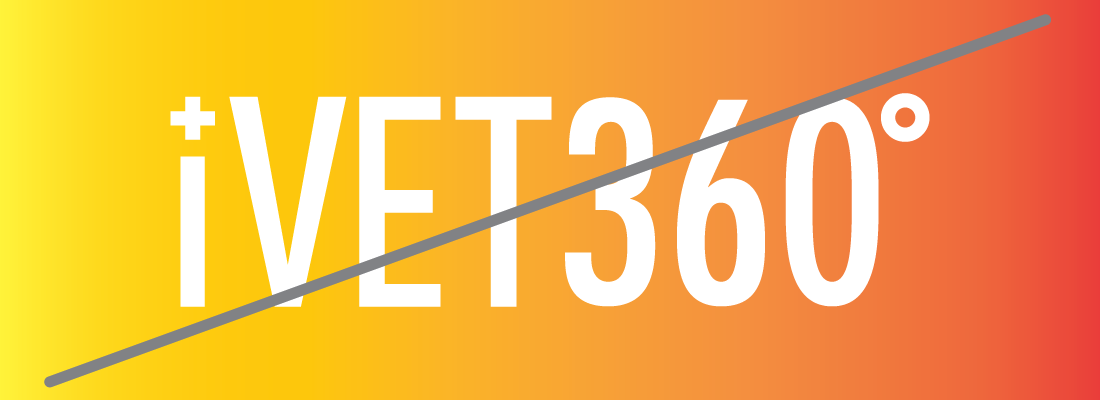 DO NOT place the iVET360 logo on a multi-colored or gradient background.