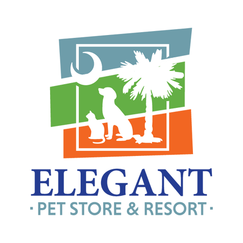 Elegant Pet Store and Resort Logo Design