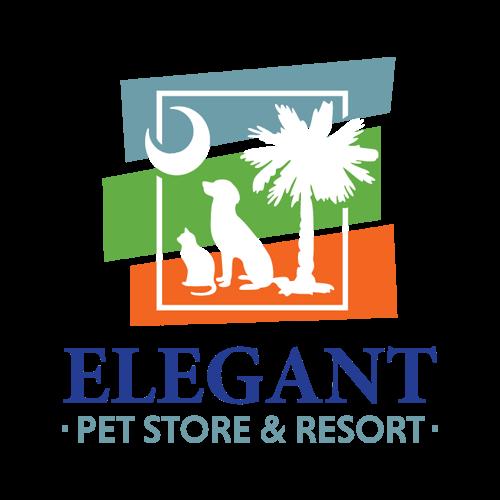 Elegant Pet Store and Resort Logo Design