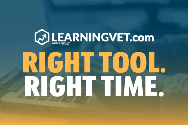 LearningVet.com Right Tool. Right Time.