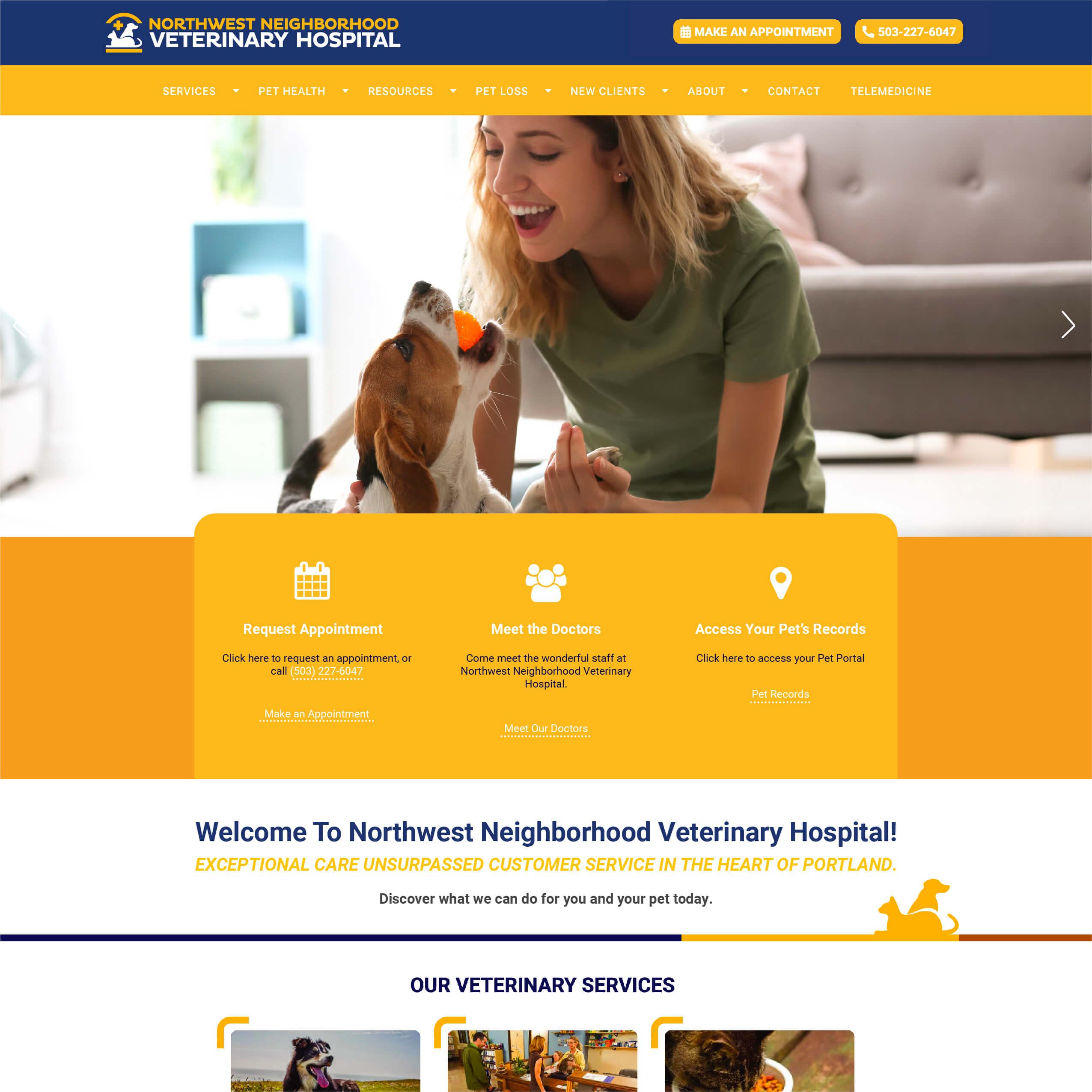 Northwest Neighborhood Veterinary Hospital