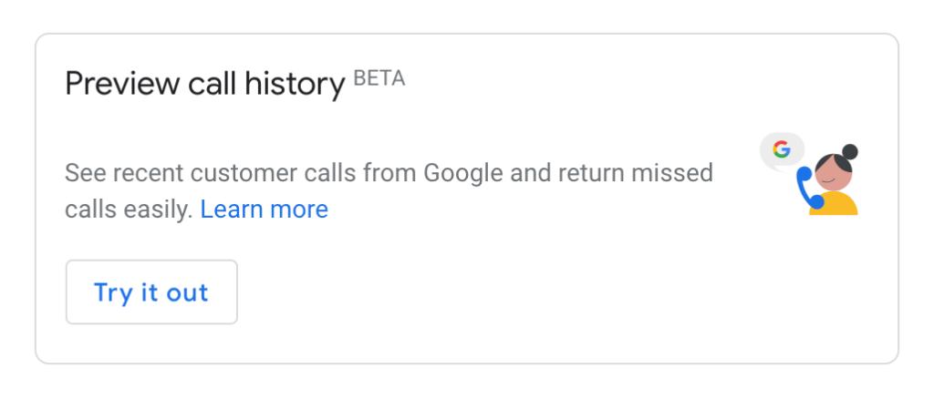 GMB Call Beta